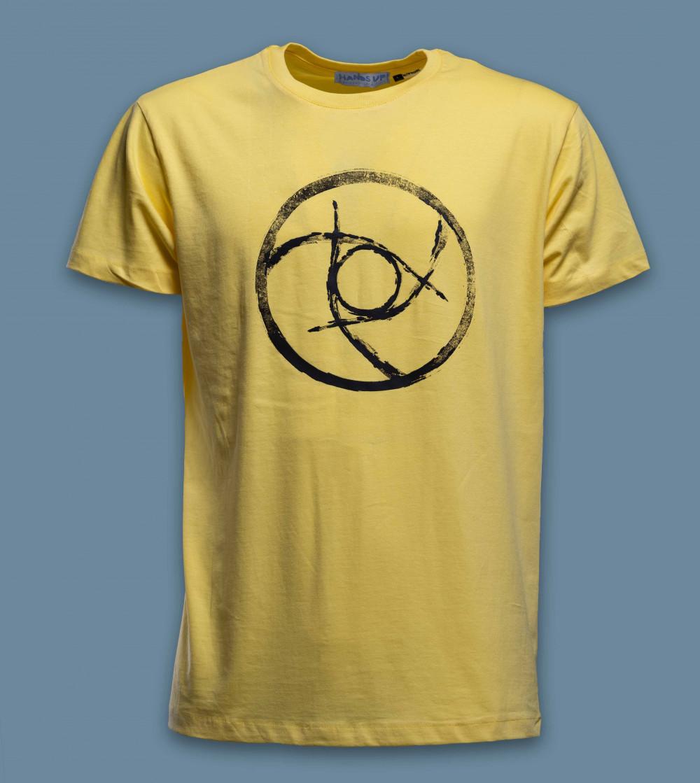 T-shirt EXUVIA Yellow