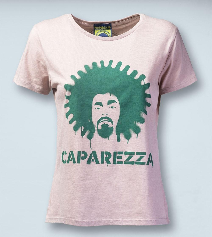 T-shirt CAPA STENCIL Pink